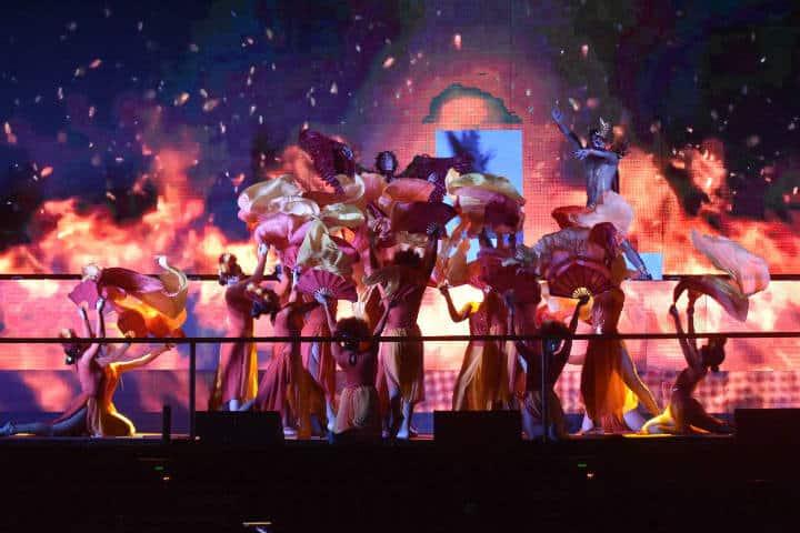 Espectáculos artísticos.Carnaval de Mazatlán.Foto.Debate Sinaloa.5