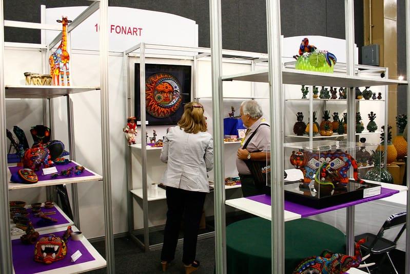 FONART apoya a los artesanos mexicanos promocionando sus articulos. Foto Expo Home