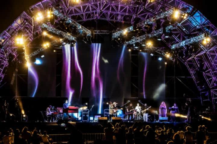 Festival del jazz riviera maya.Foto.Soud check.4