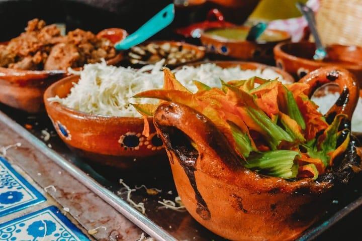 Gastronomía mexicana. Foto:  Roberto Carlos Roman Restaurante gastrocantina legendaria