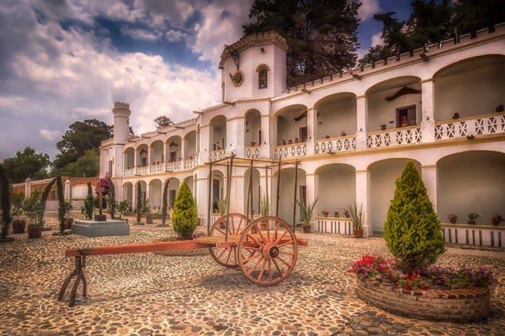 Hotel Misión Grand Ex-Hacienda de Chautla. Foto: Ole Steffensen