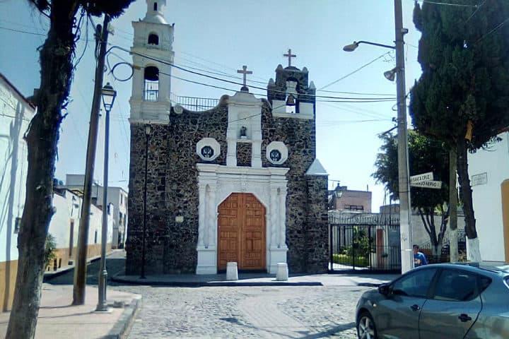 Iglesia Santa Cruz. Delegación Iztacalco. Foto: Archivo