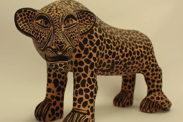 Jaguar de Barro. Foto: Diógenes