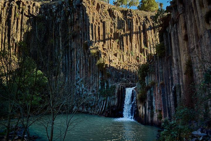 Los prismas Basalticos un lugar magico en Hidalgo. Foto Gerardo Olvera