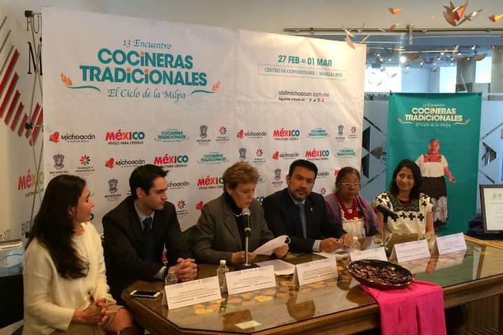 Maria Clara Barreneche.Encuentro de cocineras tradicionales en Michoacán.Foto.Saborearte.8