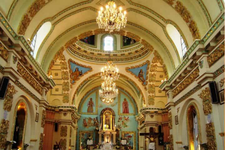 Parroquia de la Asunción. Iztacalco. Foto: Archivo