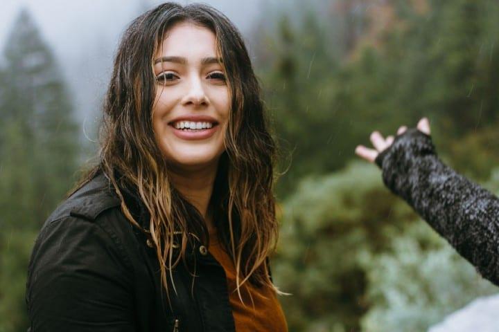 Persona feliz. Foto:  Omar Lopez