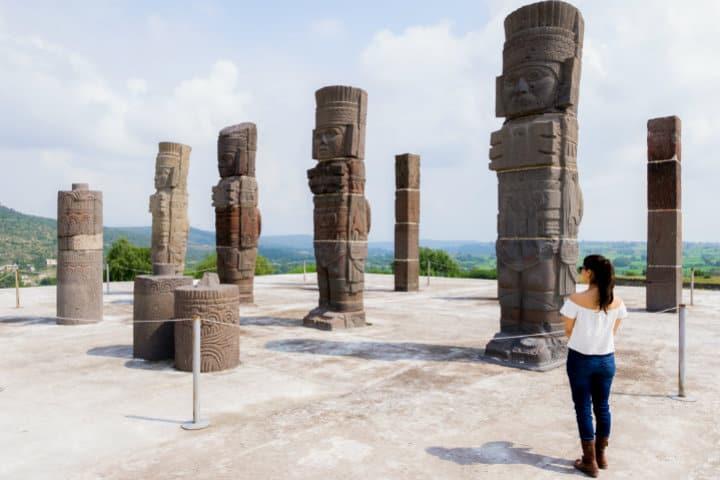 Recorrido por Tula el histórico lugar de los libros de texto.Foto.Rodrigo Suarez.10