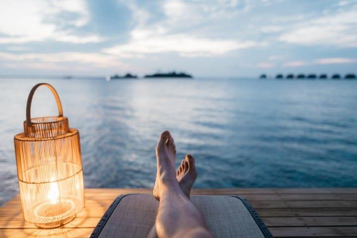 Relajación en el mar. Foto:  Simon Migaj