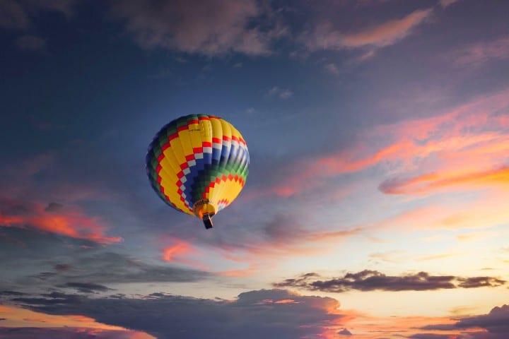 Vuelo en globo en México Foto fietzfotos