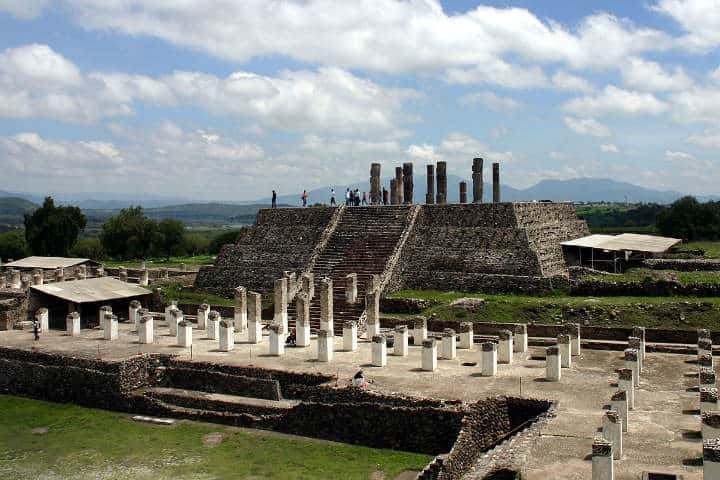 Zona arqueológica de Tula Hidalgo.Foto.Voto en Blanco.2