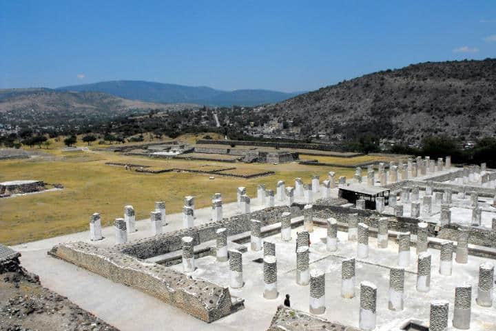 Zona arqueológica.Foto.Viajes Mixtecos México.4