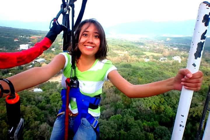 Mi experiencia saltando del bungee más alto de México en Monterrey. Foto: Archivo.