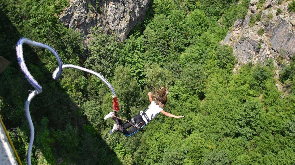 Viajar Foto: Salto de Bungee más alto de México