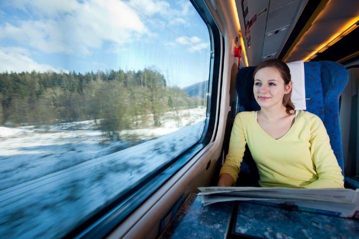 Erasmusu Foto: Viaje en tren