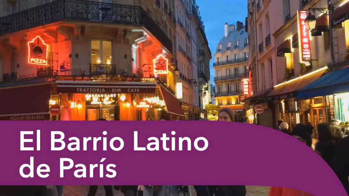 Barrio Latino en París. Imagen: Paris. Archivo