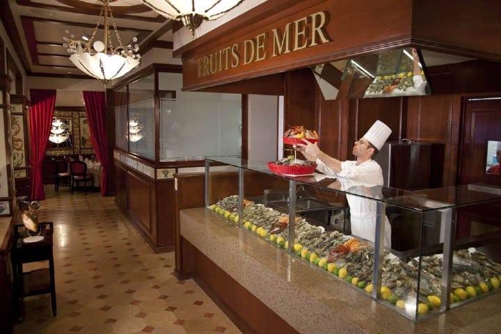 Au Pied Restaurante. Foto: InterContinental Presidente Mexico City