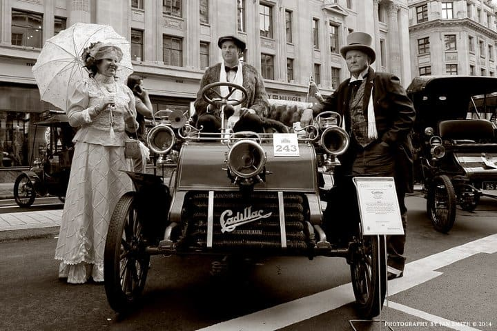 Cadillac 1903. Foto: Ian Smith