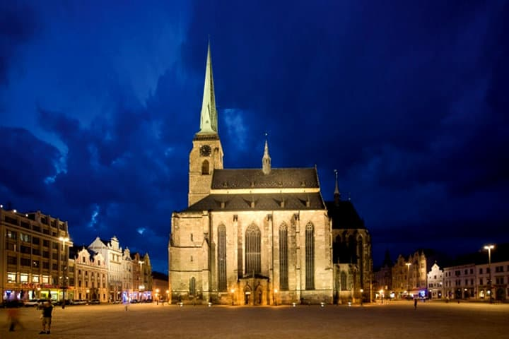 Catedral de San Bartolomé en Plzen Foto OÖ Kulturquartier