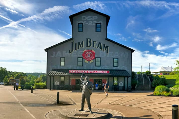 Destilería Jim Beam Foto Road Unraveled