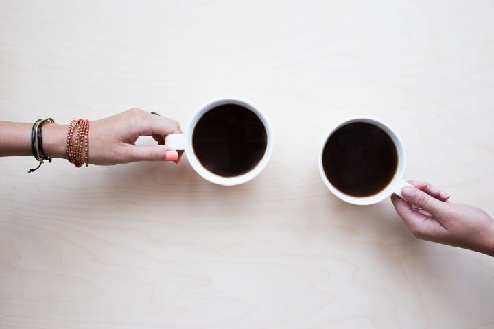 El mejor cafe es cuando lo tomas con un amigo. Foto andrewlloydgordon