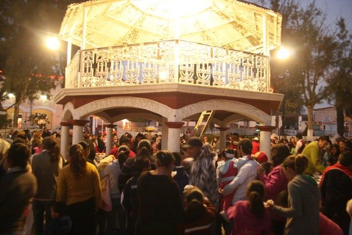Festej del día de reyes en Hueypoxtla. Foto del ayuntamiento.