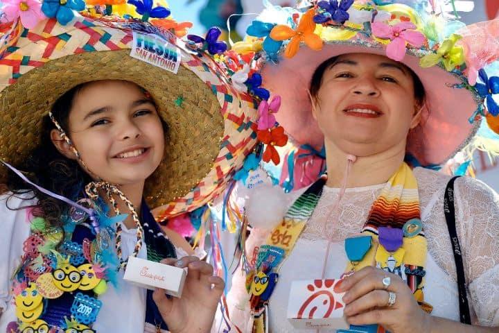 Fiesta de San Antonio Texas. Foto: San Antonio & New Braunfels area Chick-fil-A restaurants