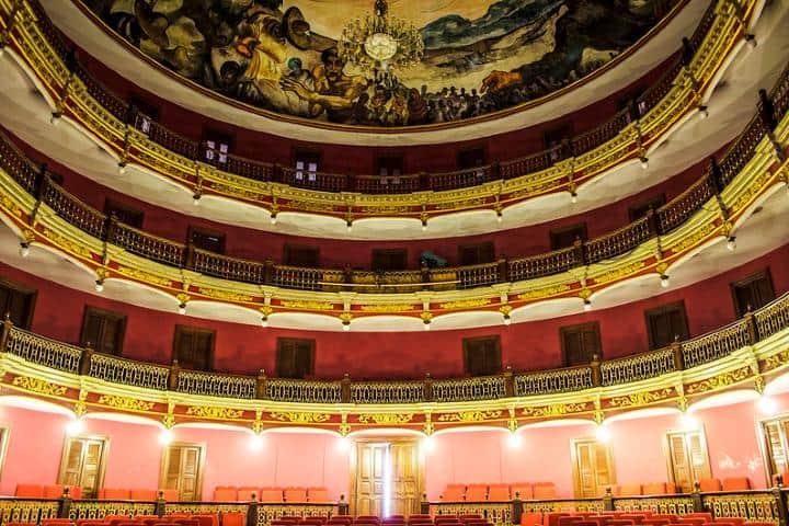 Teatro Rosas Moreno. Foto Comisión de Filmaciones