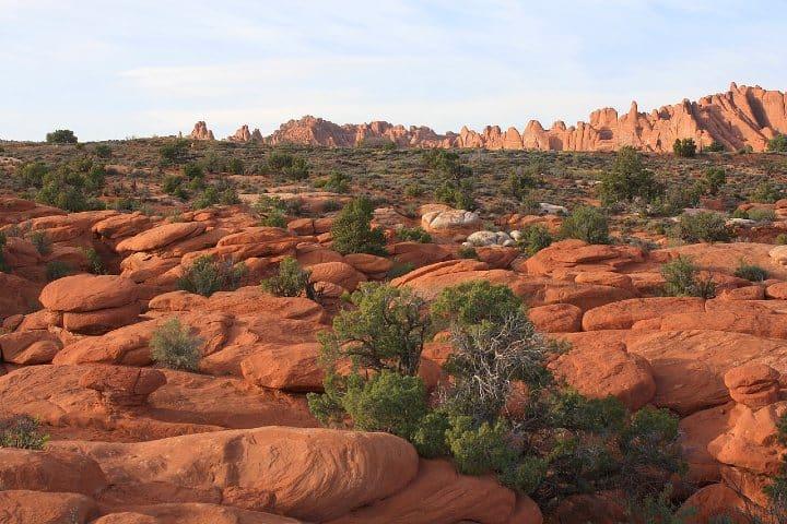 Los arcos de Moab son un regalo mas de la madre naturaleza.Foto QueenCarolyn