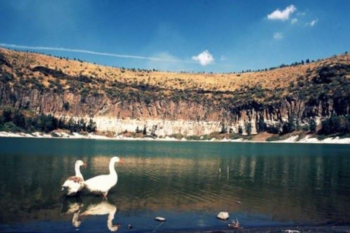 Una foto antigua de una de las iluminarias. Foto estado de Guanajuato