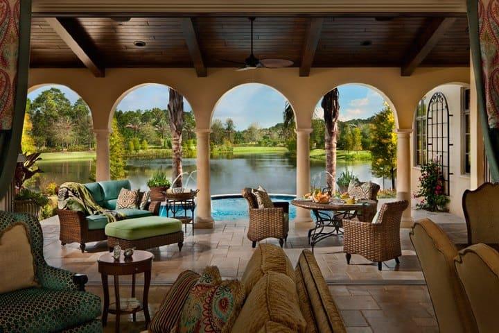 Hermosa vista de una casa. Foto Viva Orlando
