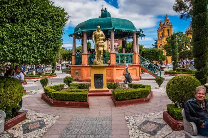 Jardin Juarez Xochimilco