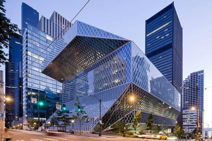 La Biblioteca de Seattle una de las más bellas del mundo Foto Organización Universo Abierto