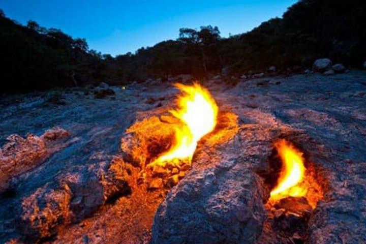 Las eterna flama de la Quimera de Turquía Foto Archivo