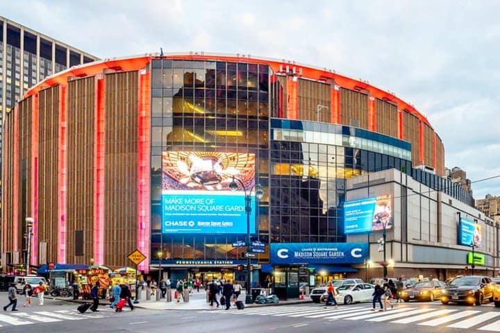 Madison Square Garden. Foto: Ajay Suresh