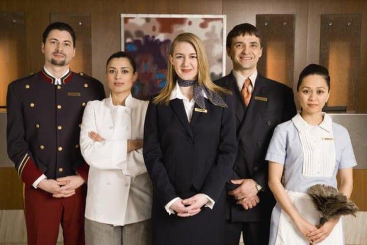Personal de hotel. Foto: Archivo