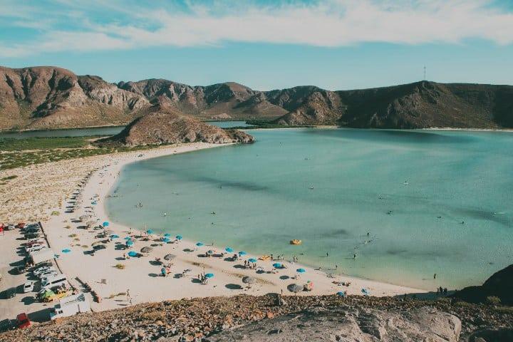 Playa Balandra La Paz Mexico. Foto: Matthew T Rader