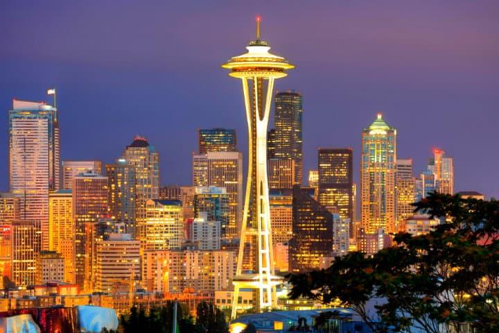 Seattle la esmeralda Foto Negocios y Convenciones