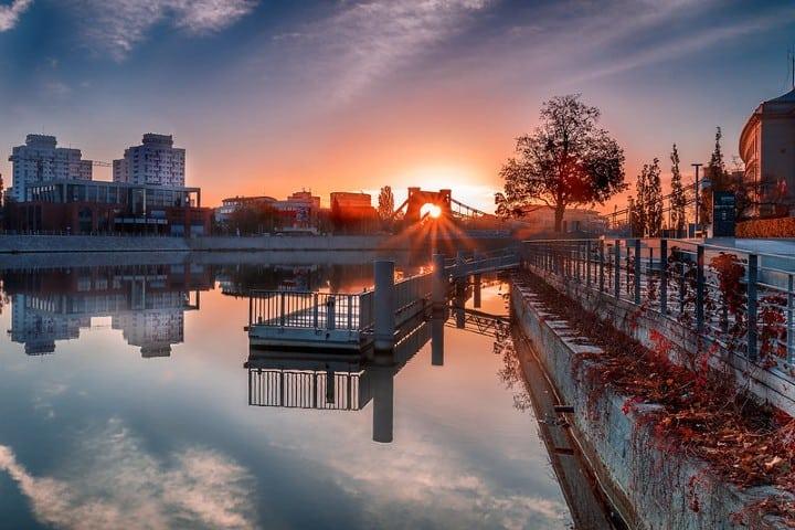 Vista maravillosa de Breslavia. Foto Michele Naro