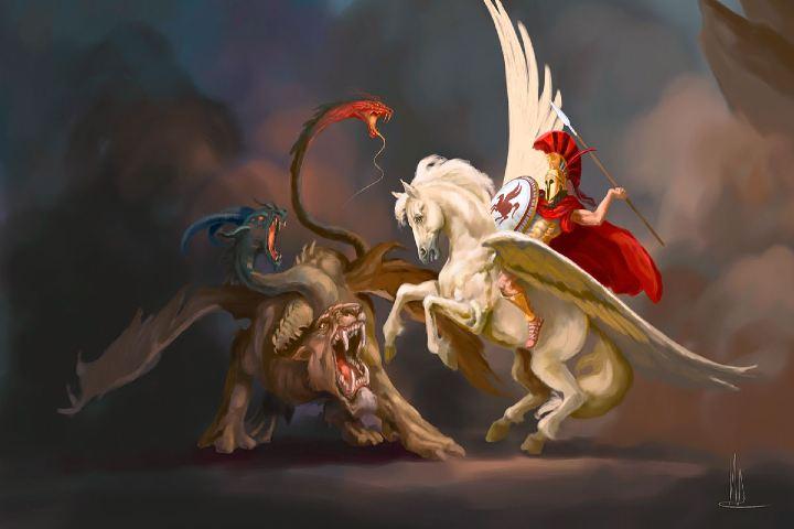Seres mitológicos y fantásticos Foto: Quimera Historia