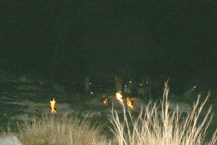 ruta Lycia para llegar a La afamada Quimera Turquía Foto La Quimera armada de llamas