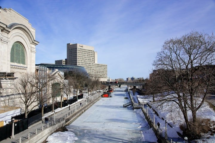 RIDEAU CANAL by Michel Gauthier