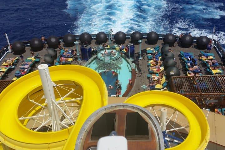 Alberca en crucero. Foto:  Nico Smit