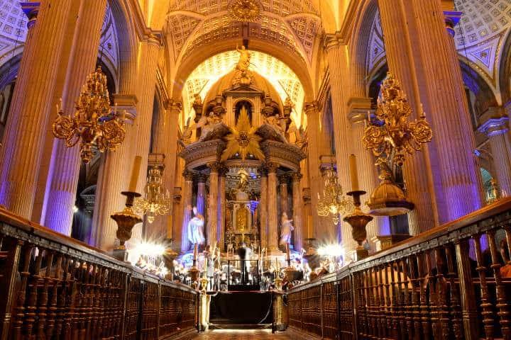 Altar de la Catedral de Nuesta Señora de la Concepción Foto commons wikimedia org (1)