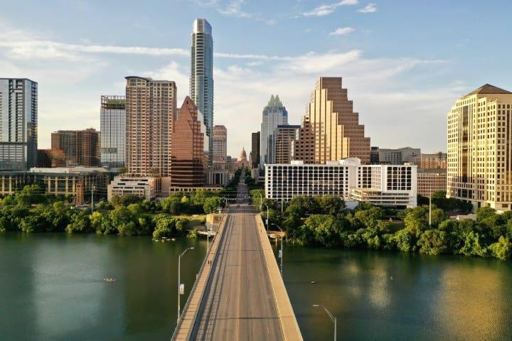 Austin Texas. Foto: Mitchell Kmetz Recorrido en bicicleta por Austin