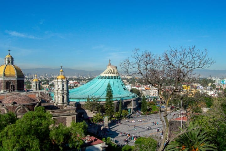 Basílica de Guadalupe. Foto:  Crisoforo Gaspar Hernandez