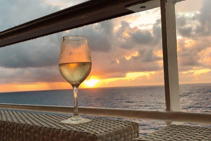 Bebidas en crucero. Foto: Reiseuhu