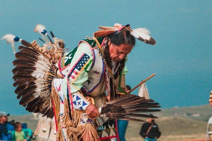 Festival Pow Wow. Foto: Andrew James