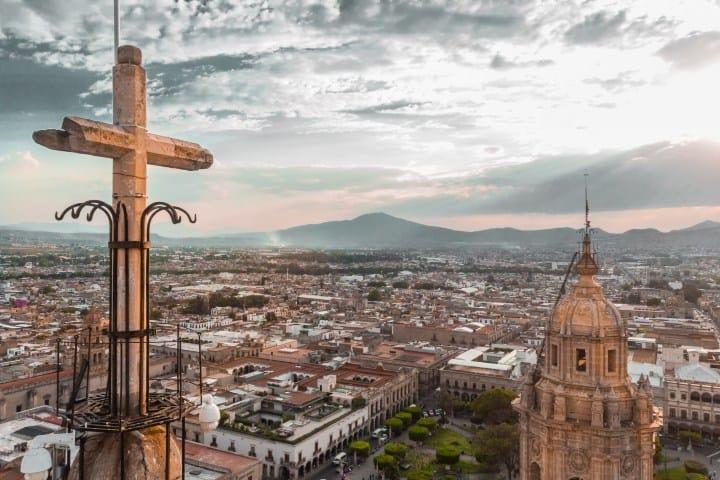 Iglesia Morelia México. Foto:  Jezael Melgoza
