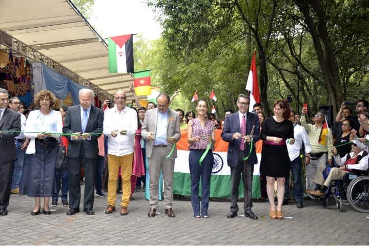 Inauguración por la Jefa de Gobierno de la Feria de las Culturas Amigas 2019 Foto Jefatura de Gobierno de la CDMX